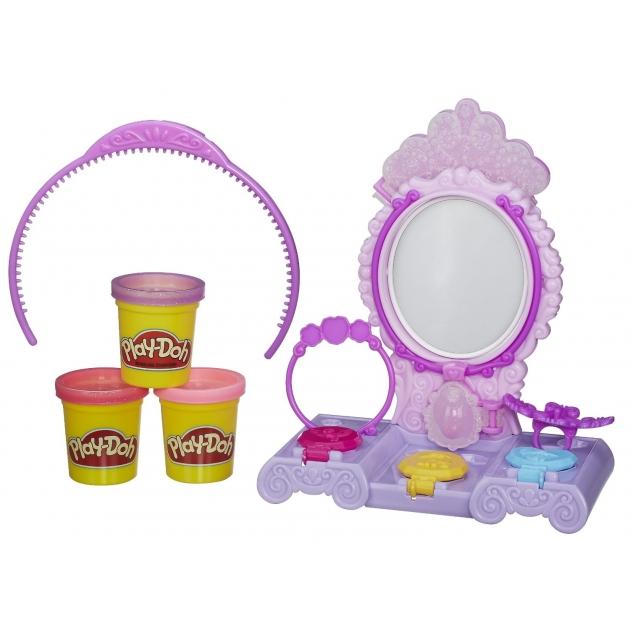 Детский пластилин play doh набор туалетный столик принцессы софии a7399