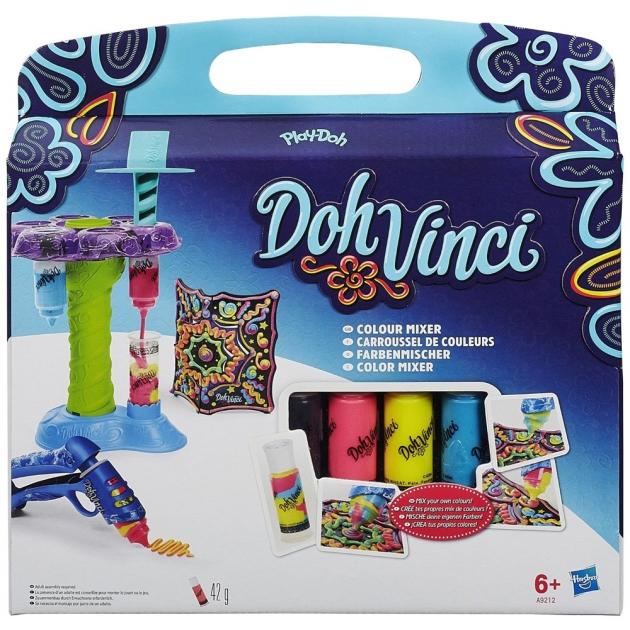 Детский пластилин play doh Набор для творчества DohVinci Микшер цветов A9212
