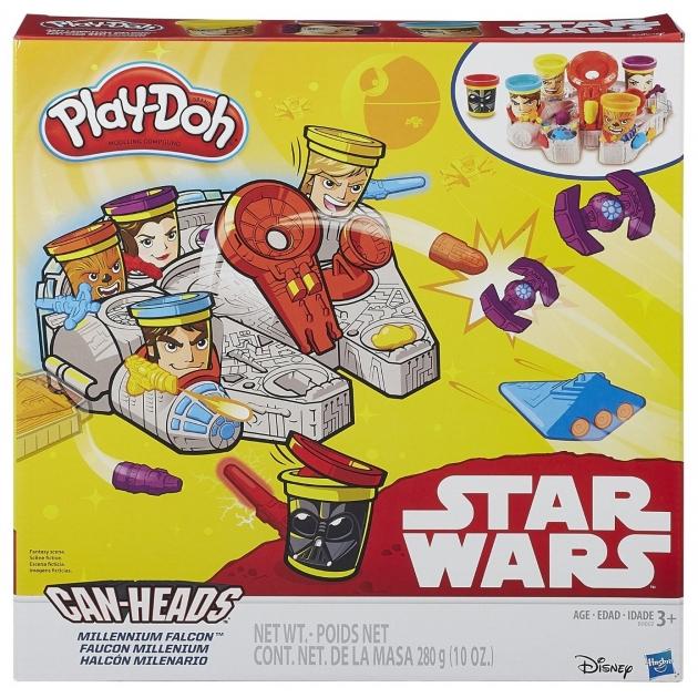 Игровой набор пластилина Hasbro Play Doh Тысячелетний Сокол B0002
