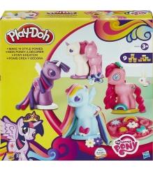 Игровой набор пластилина Hasbro Play Doh Создай любимую Пони B0009...