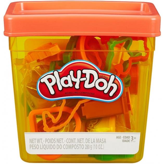 Игровой набор пластилина Hasbro Play Doh Контейнер с инструментами B1157