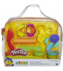 Игровой набор пластилина Hasbro Play Doh Базовый в сумочке B1169...