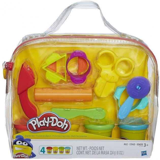 Игровой набор пластилина Hasbro Play Doh Базовый в сумочке B1169