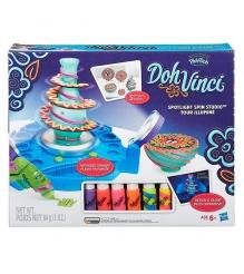 Игровой набор пластилина Hasbro Play Doh DohVinci Студия дизайна с подсветкой B1718