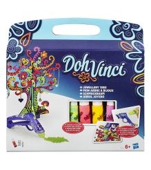 Игровой набор пластилина Hasbro Play Doh DohVinci Дерево для драгоценностей B171...