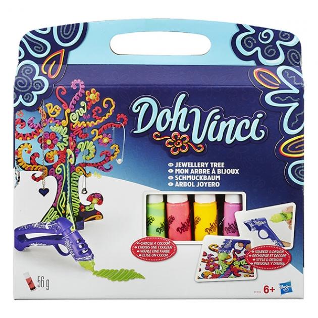 Игровой набор пластилина Hasbro Play Doh DohVinci Дерево для драгоценностей B1719