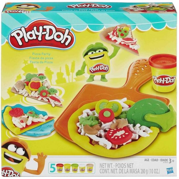 Игровой набор пластилина Hasbro Play Doh Пицца B1856