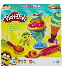 Игровой набор пластилина Hasbro Play Doh Инструменты мороженщика B1857EU4...