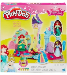 Игровой набор пластилина Hasbro Play Doh Замок Принцесс B1859