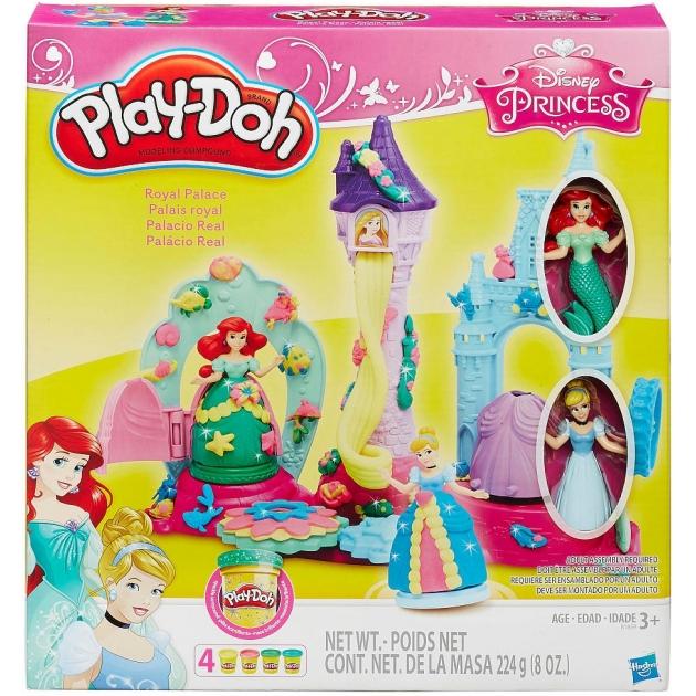 Игровой набор пластилина Hasbro Play Doh Замок Принцесс B1859