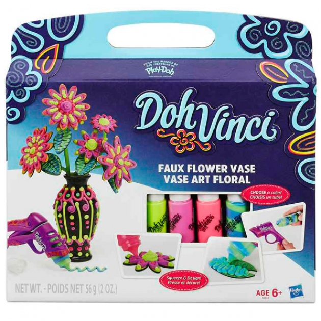 Игровой набор пластилина Hasbro Play Doh Dohvinci Ваза дизайнера B2834