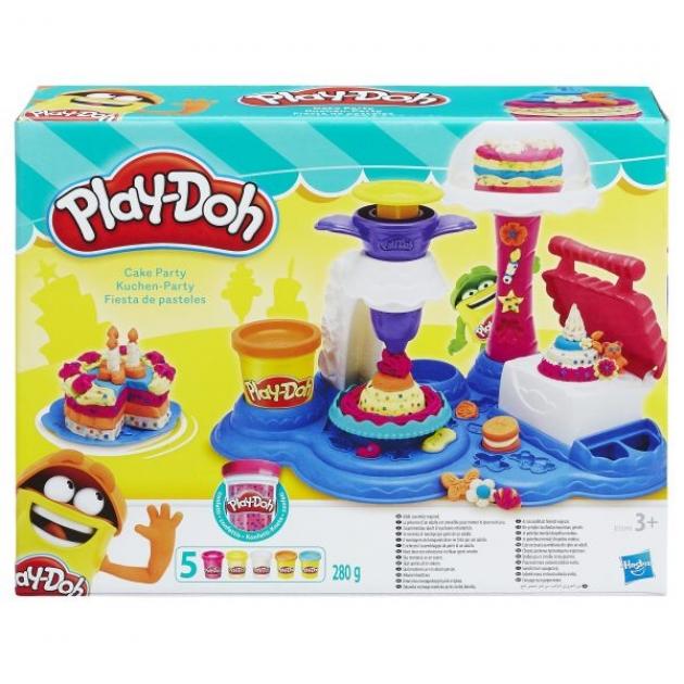 Игровой набор пластилина Hasbro Play Doh Сладкая вечеринка B3399