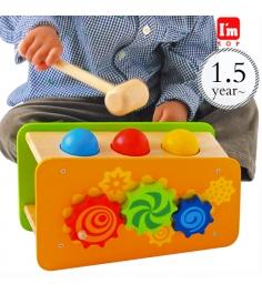 Развивающая игрушка стучалка I'm toy 29650