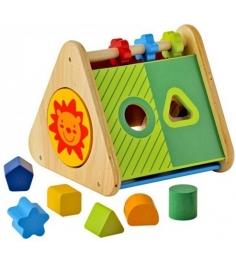Развивающий треугольник сортер I'm Toy 29660...