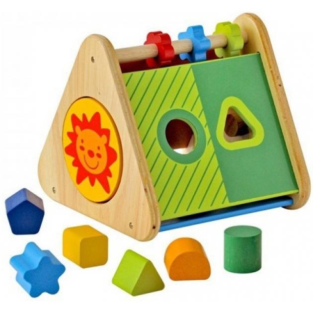 Развивающий треугольник сортер I'm Toy 29660