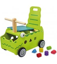 Сортер каталка Крокодил I'm toy 87630