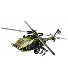 3D Пазл IQ Puzzle Вертолет AH-64 инерционный