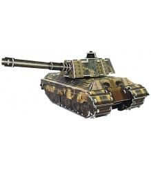 3D Пазл IQ Puzzle Танк King Tiger инерционный