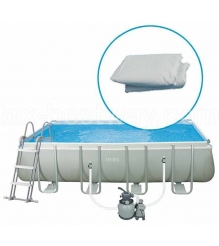 Чаша для каркасного бассейна Intex Rectangular Ultra Frame Pool 10939...