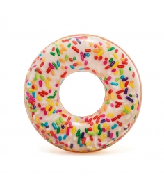 Надувной круг Intex Пончик глазурь 56263