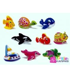 Надувная игрушка для бассейна Intex 58590 животные 9 видов...
