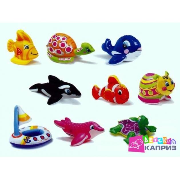Надувная игрушка для бассейна Intex 58590 животные 9 видов