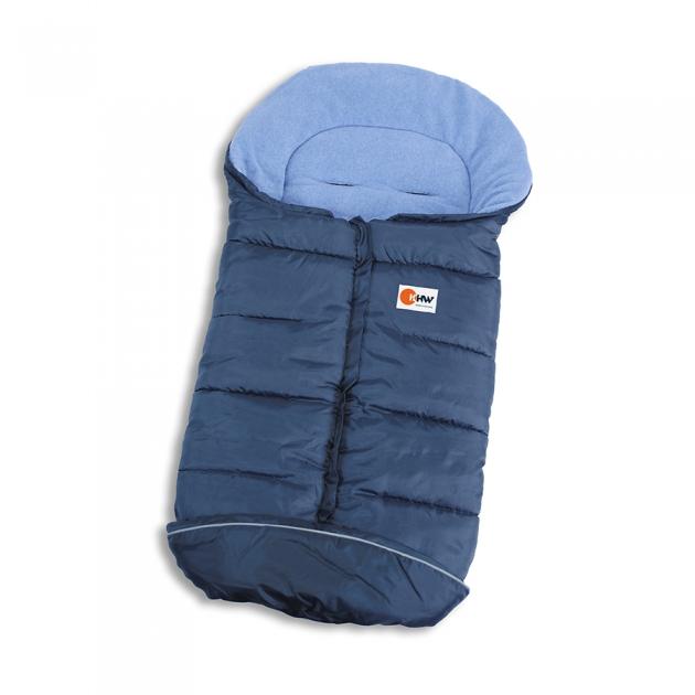 Конверт для санок KHW SNOW BABYSACK NEW синий