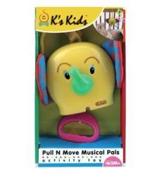 Музыкальная погремушка на кровать Слоник K's kids KA504