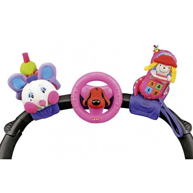 Набор игрушек Счастливое трио (розовый) K's kids (Арт. KA581)