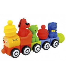 Мягкий конструктор Поезд друзей Ks kids KA654