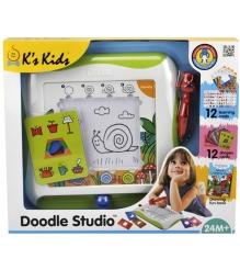 Детский мольберт с Обучающими Карточками K'S Kids Ka656