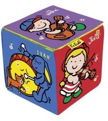 Развивающая мягкая игрушка K's Kids Музыкальный кубик KA664...