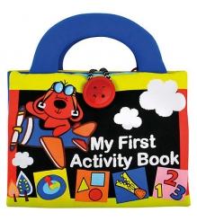 Мягкая развивающая игрушка K's Kids Моя первая книжка 2 KA666...