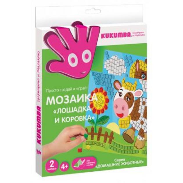 Мозаика Kukumba лошадка и коровка 97019