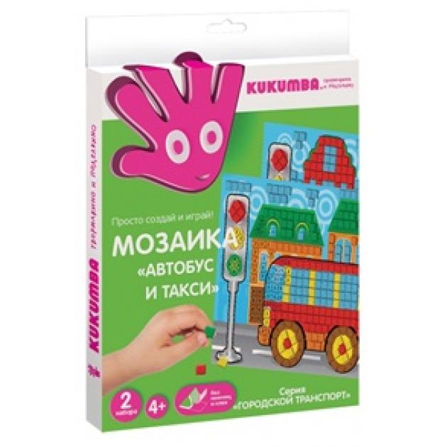 Мозаика Kukumba автобус и такси 97020
