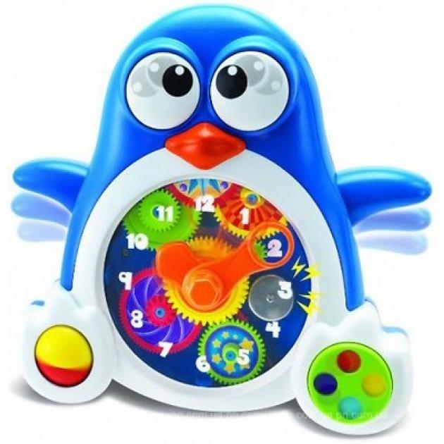Развивающая игрушка Keenway Пингвиненок-часики 31349