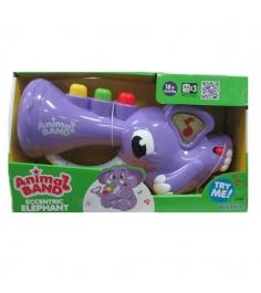 Музыкальная игрушка Keenway Слоник трубач для малы...
