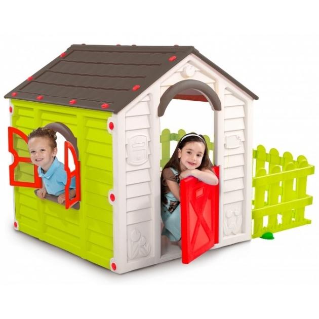 Детский домик для дачи Keter Гарден Хаус КТ-7223