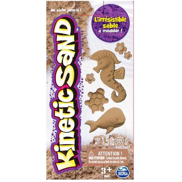 Песок для лепки Kinetic Sand коричневый 680 гр 71409-2-6026697