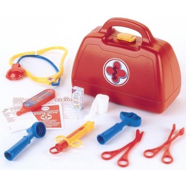 Набор доктора Klein в красном чемоданчике 9 предметов 4450