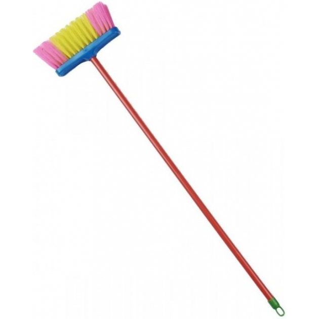 Игрушка для уборки Klein щетка желто розовая