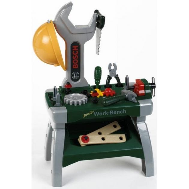 Детская мастерская Klein Верстак с инструментами Bosch Junior 8604