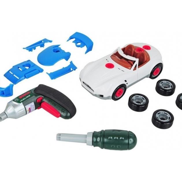 Набор инструментов Klein тюнинг ателье с машиной для сборки и шуруповертом Bosch 8668