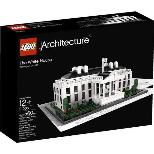 Конструктор Lego Architecture Белый дом 21006