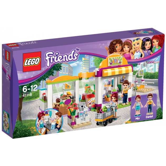 Lego Friends Супермаркет 41118