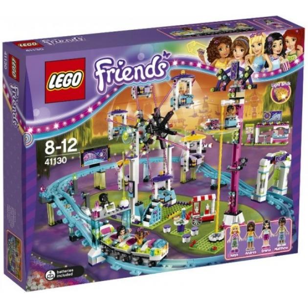 Lego Friends Парк развлечений американские горки 41130