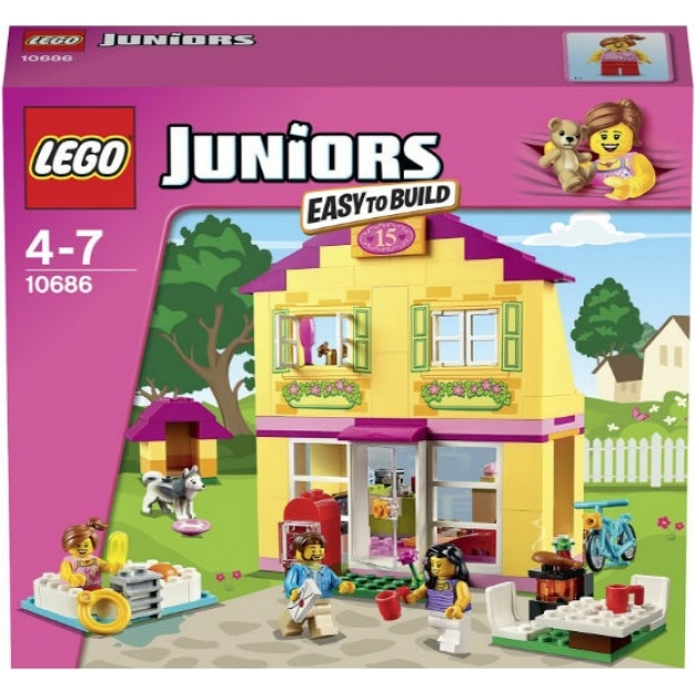 Lego Juniors Семейный домик 10686