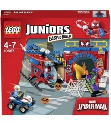 Lego Juniors Убежище Человека паука 10687