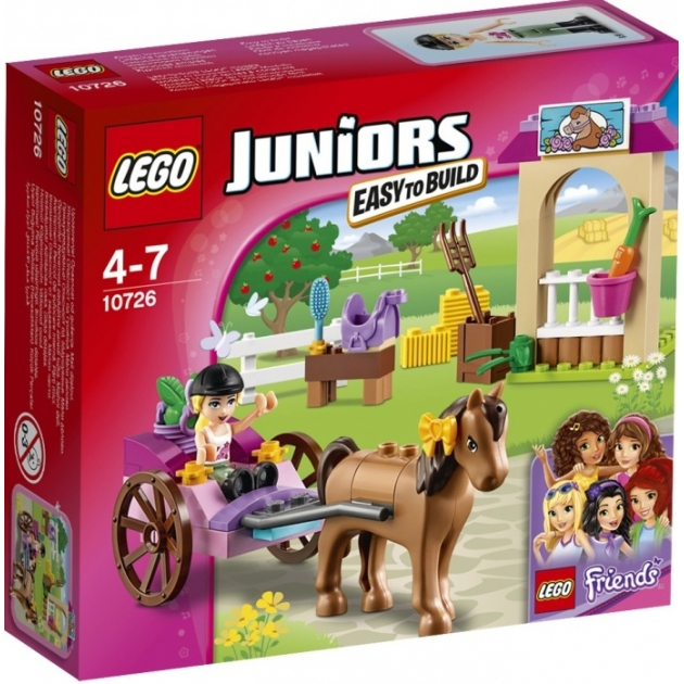 Lego Juniors Карета Стефани 10726