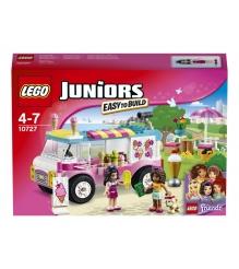 Lego Juniors Грузовик с мороженым Эммы 10727
